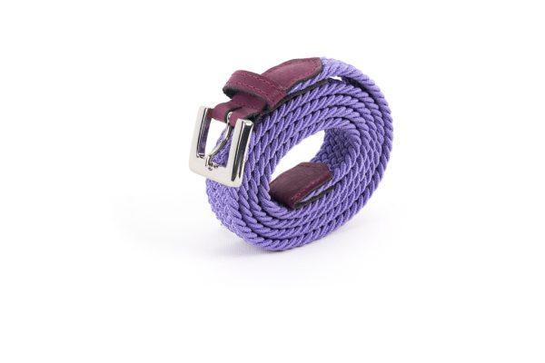 vertical bordeaux violet roulee