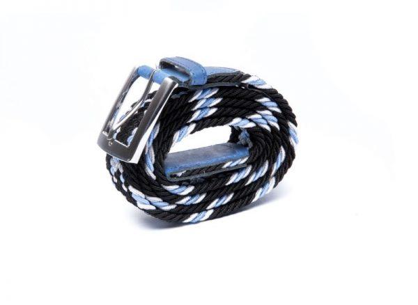 ceinture made in france bleu noire laloop