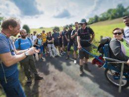 Sortie pédestre loisir avec Sancy-rando, sortie nature en Auvergne en groupe,