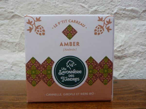 savon artisanal nord naturel amber