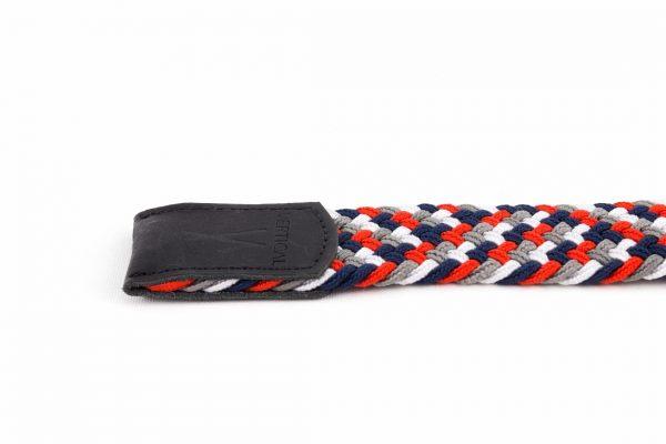 ceinture made in france bleublanc rouge laloop plat