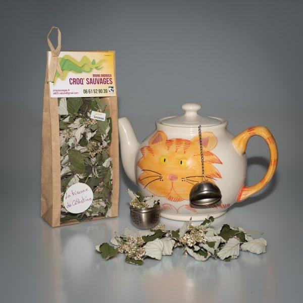 tisane mélange de plantes sauvages croqsauvage, tisane de celestine
