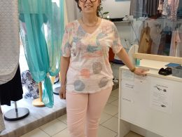 T-Shirt ROSE PÂLE 100478 CONCEPT K 80 Chez BEAULIEU