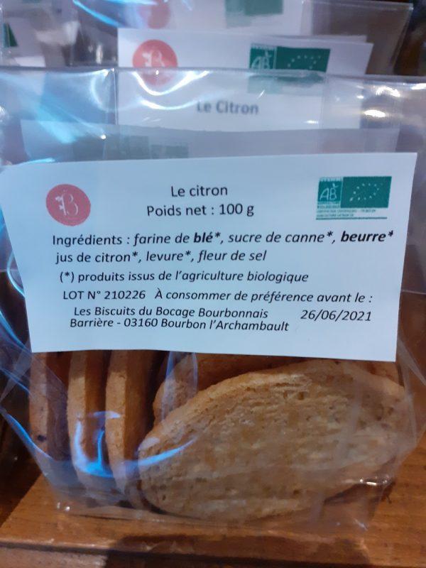 la boite à biscuits à murat, des biscuits artisanaux, les ingrédients