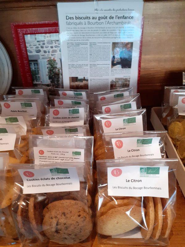 la boite à biscuits à murat, des biscuits artisanaux
